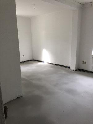 Innenausbau Fußboden September 2019