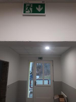 Eingangsbereich Erdgeschoss Januar 2020