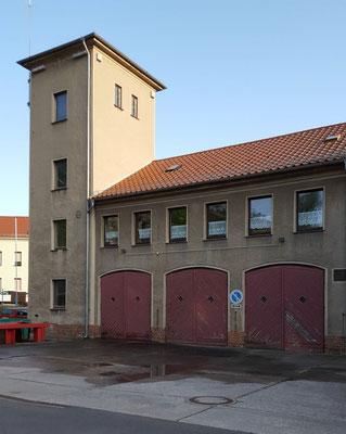 Außenansicht Innenhof Feuerwehr Borna