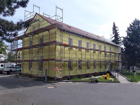 Außenansicht Röthaer Straße Mai 2019