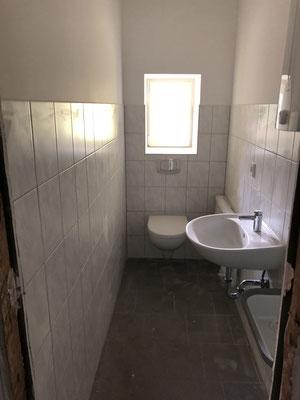 Innenausbau Sanitär September 2019