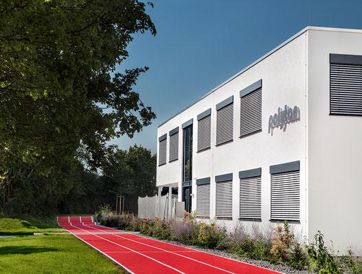 Firmenzentrale Polytan Burgheim   Foto: A. Keller