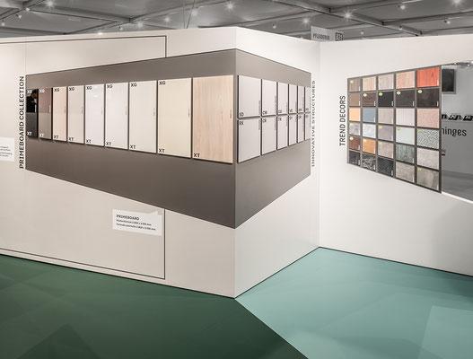 Messe-Architektur für Pfleiderer auf der SICAM 2018, Foto: O. Rederlechner