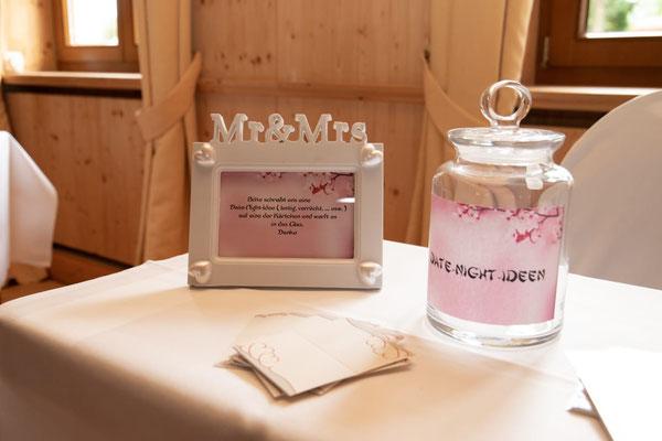 Dating-Ideen für das Brautpaar anstatt des klassischen Gästebuchs