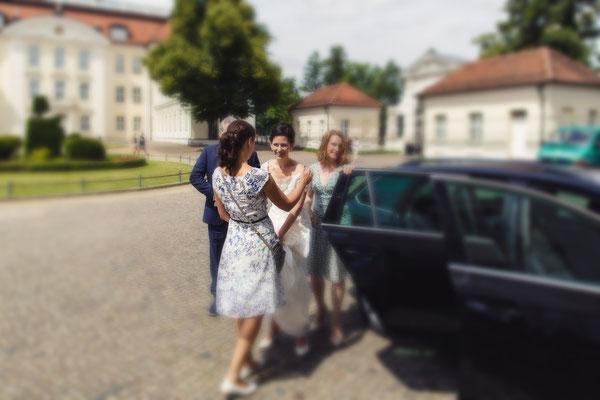 Die Braut empfangen