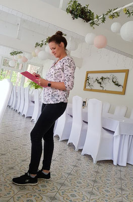 Ihre Wünsche werden am Hochzeitstag professionell bis ins kleinste Detail umgesetzt