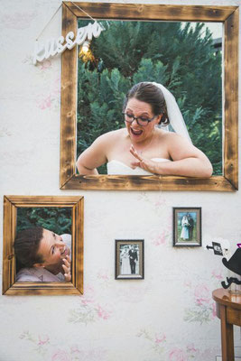 DIY Hintergrund für die Fotobox