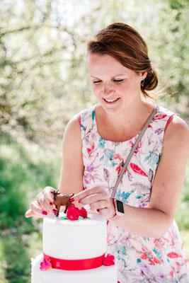 Ihrer Hochzeitstorte verleiht Ihre Hochzeitsplanerin den letzten Schliff