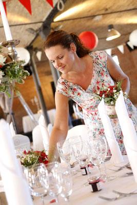 Ihre Hochzeitskonzept wird liebevoll und professionell umgesetzt