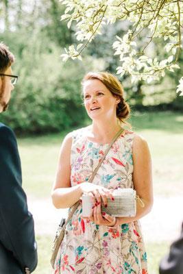 gemeinsames Warten auf die Braut gehört auch dazu