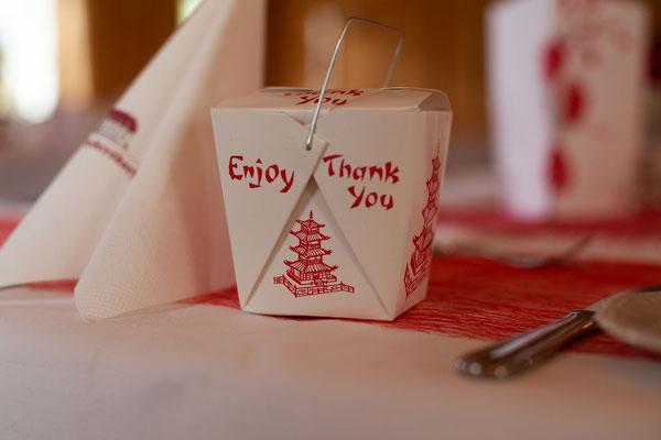passende Gastgeschenke für die Hochzeitsgäste