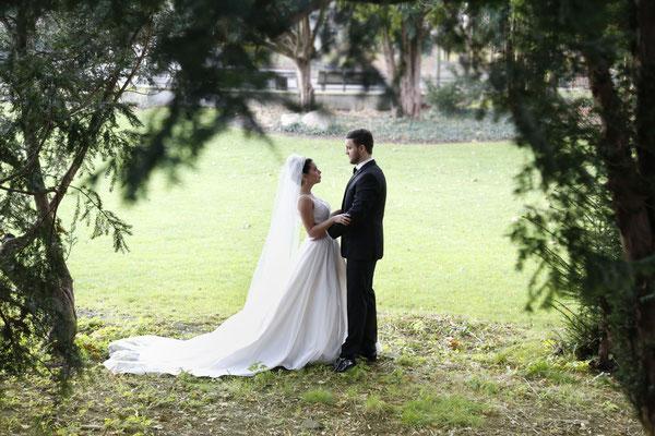 wunderschönes Brautpaarshooting Ende November - von wegen Tristesse!