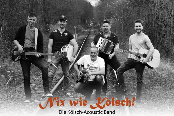 Band Nix wie Kölsch in Dattenfeld bei Parkcoustic 2018