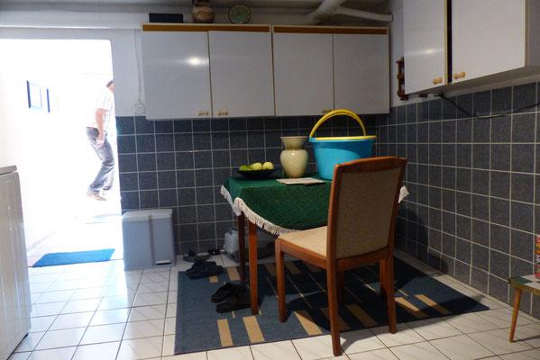 Küche im Kellerbereich