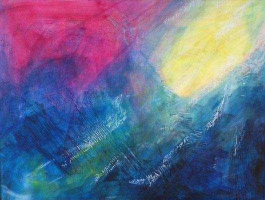 Amorgos - Licht und Wasser (30x40cm)