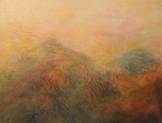 Berge im Herbst (32x42cm)