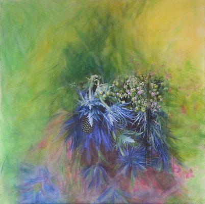 Blütenfüllhorn (60x60cm)