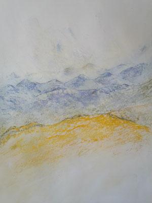 Berge 5 (44x32cm)