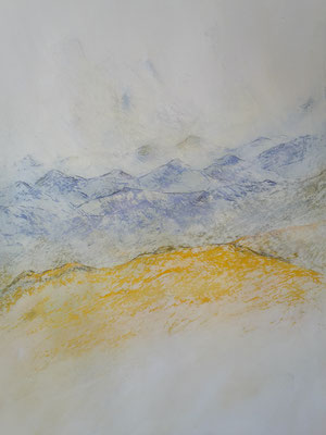Berge 2 (44x32cm)