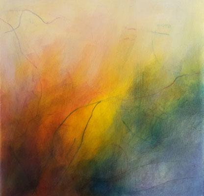 Von Farbe und Licht 3 (40x40cm)
