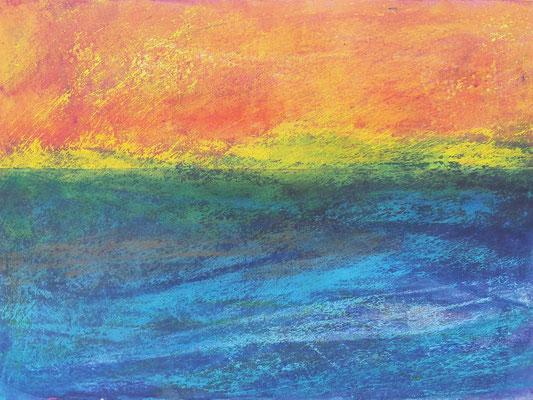 Amorgos 5 (30x42cm), verkauft