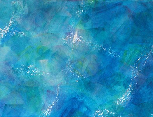 Amorgos - Lichterspiel im Meer1 (34x45cm)