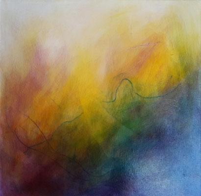 Von Farbe und Licht 4 (40x40cm)