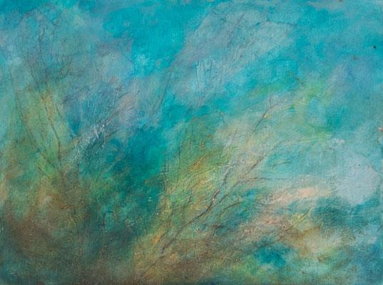 Amorgos-Blick aufs Wasser (30x40cm)