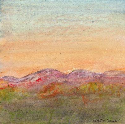Magie der Landschaft 1 (15x15cm), verkauft