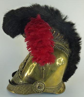 casque de pompier modèle 1821