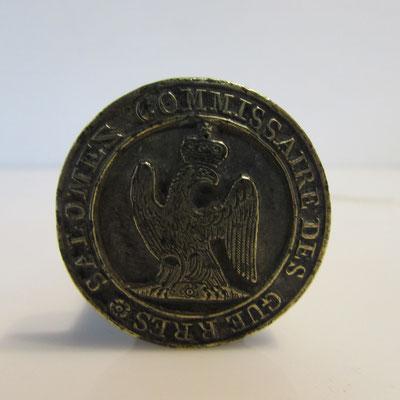 sceau commissaire des guerres