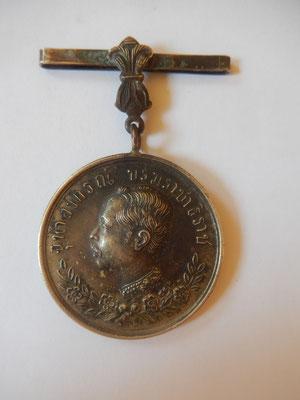 médaille thaï campagne 1877 .prix :   150 euros