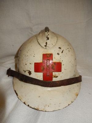 casque mle26 croix rouge