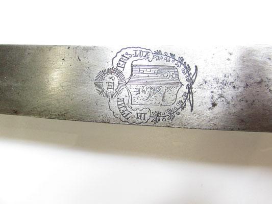 sabre briquet infanterie suisse