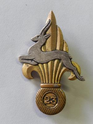 23 Cie porté de la légion DP dos guilloché + boléro  Prix : 50 euros