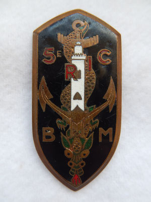 5 RIC bataillon de marche  AB 46rRENNES P G1122 Prix : 40 euros