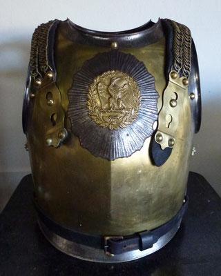 plastron cuirasse carabinier second empire