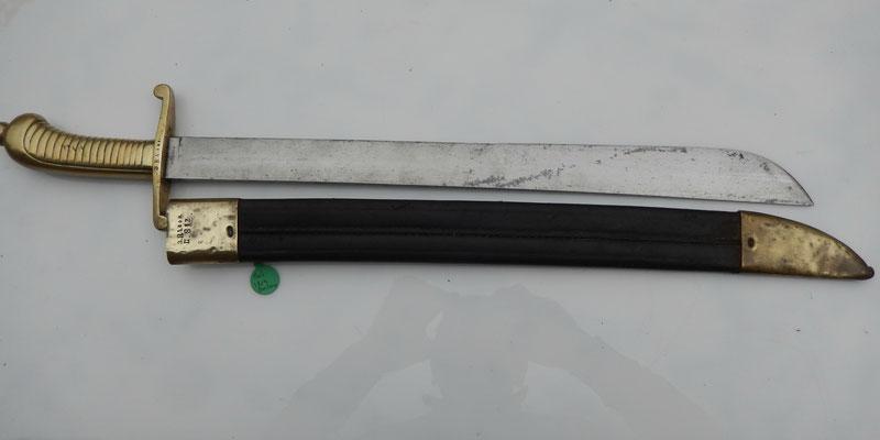 GLAIVE  BADOIS M 1824 INFANTERISFASCHINENMESSER