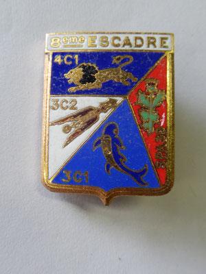 8 escadre de chasse , 4 escadrille  DP prix:20 euros