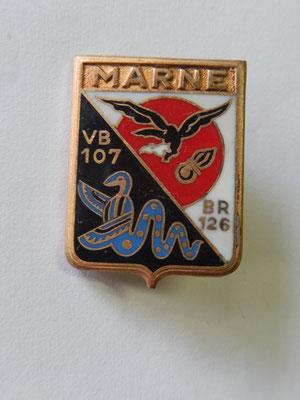 escadron de bombardement 2-94 MARNE  DP A 953  prix : 10 euros