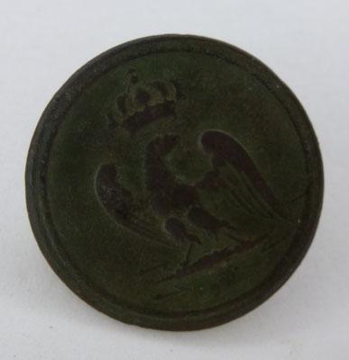 bouton militaire garde impériale  premier empire