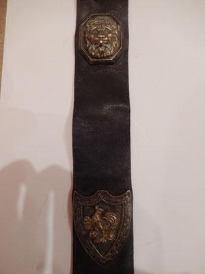 attribut de banderole garde nationale  Louis Philippe   130 euros
