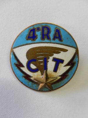 4 RA CIT  numéroté 2250 Augis attache ressoudée Prix : 15 euros