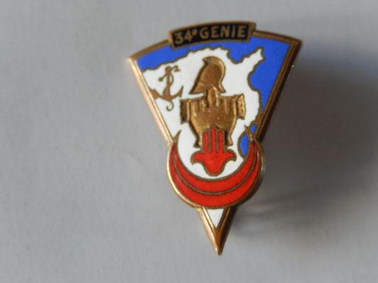 bataillon 34° genie  drago 25 rue beranger deposé dos lis .prix : 25 euros