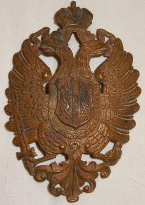 plaque shako autrichien  ( grand modele)  Prix : 80 euros