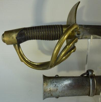 sabre cuirassier  espagnol