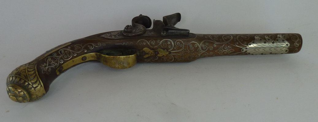 pistolet à silex  orientale