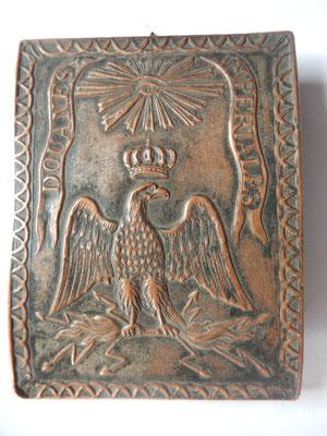 Plaque de baudrier des douanes impériales prix :1800 euros