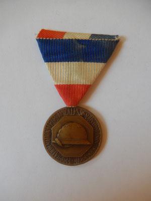 médaille fédération nationales des amicales des anciens sous-officier de réserve 35 euros