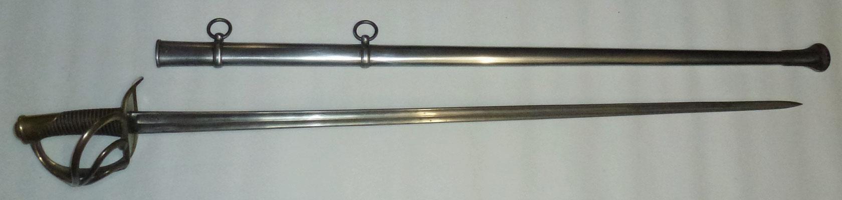 fourreau et épée cavalerie de ligne mle 1816